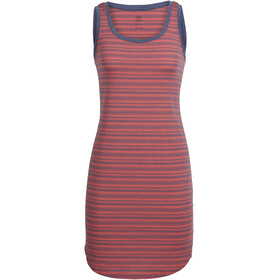Icebreaker W's Yanni Tank Dress Tulip/Gumtree/Stripe